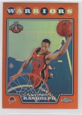 2008-09 Topps Chrome - [Base] - Orange Refractor #193 - Anthony Randolph /499