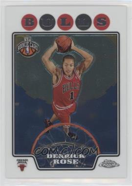 2008-09 Topps Chrome - [Base] #181 - Derrick Rose