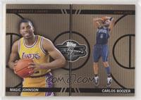 Magic Johnson, Carlos Boozer #/199
