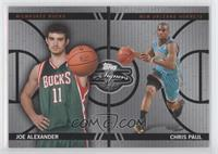 Joe Alexander, Chris Paul /99