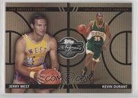 Jerry West, Kevin Durant #/399