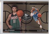 Joe Alexander, Allen Iverson /399