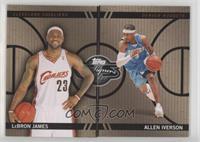 LeBron James, Allen Iverson #/399