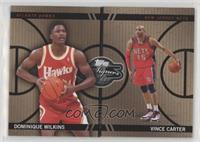 Dominique Wilkins, Vince Carter #/399