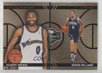 Gilbert Arenas, Deron Williams #/399