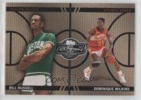 Bill Russell, Dominique Wilkins #/399