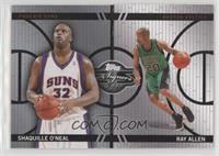 Shaquille O'Neal, Ray Allen #/99