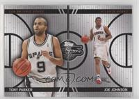 Tony Parker, Joe Johnson #/899
