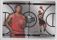 Derrick Rose, Michael Beasley #/899