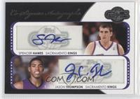 Spencer Hawes, Jason Thompson /240