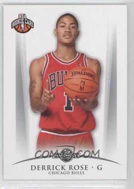 2008-09 Topps Hardwood - [Base] #101.1 - Derrick Rose (One Ball) /2009