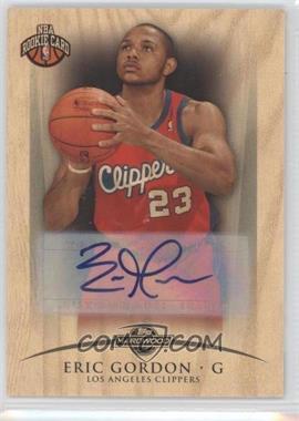 2008-09 Topps Hardwood - Rookie Signatures - Wood [Autographed] #RC107 - Eric Gordon /69