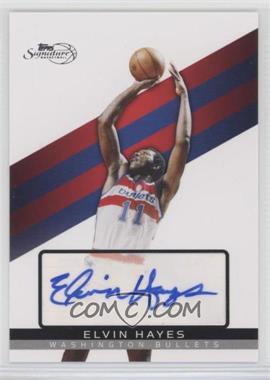 2008-09 Topps Signature - [Base] - Autograph [Autographed] #TSA-EH - Elvin Hayes /625