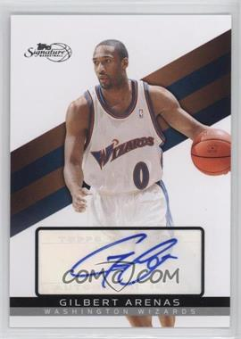 2008-09 Topps Signature - [Base] - Autograph [Autographed] #TSA-GA - Gilbert Arenas /1199