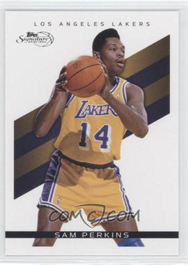 2008-09 Topps Signature - [Base] #TS-SP - Sam Perkins /2325