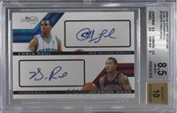 Chris Paul, Derrick Rose /49 [BGS 8.5 NM‑MT+]