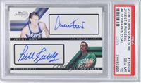 Jerry West, Bill Russell /49 [PSA 10]