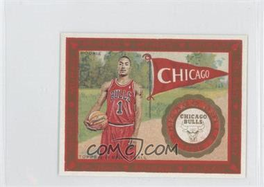2008-09 Topps T-51 Murad - [Base] - Mini #171.1 - Derrick Rose