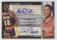 Magic Johnson, D.J. Augustin /39