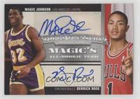 Magic Johnson, Derrick Rose /39