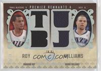 Brandon Roy, Deron Williams /10