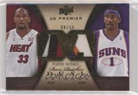 Amare Stoudemire, Alonzo Mourning [Noted] #/50