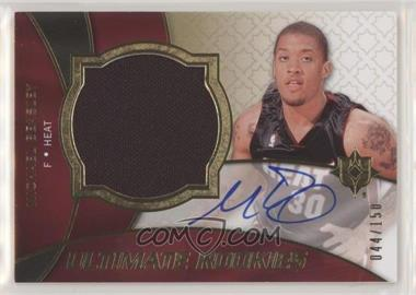 2008-09 Ultimate Collection - [Base] #122 - Michael Beasley /150