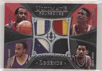 Moses Malone, Dominique Wilkins, Darrell Griffith, George Gervin #/10