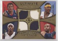 Joe Johnson, Carmelo Anthony, Josh Howard, Vince Carter #/50