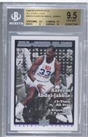 Kareem Abdul-Jabbar [BGS9.5]