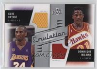 Dominique Wilkins, Kobe Bryant