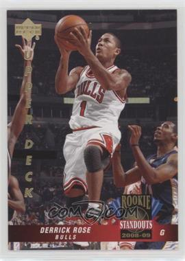 2008-09 Upper Deck Lineage - Rookie Standouts #RS-1 - Derrick Rose