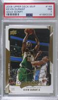 Kevin Durant [PSA 7 NM] #/100
