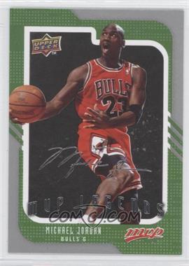 2008-09 Upper Deck MVP - [Base] - Silver Script #245 - Michael Jordan