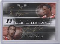Ben Gordon, Derrick Rose /50