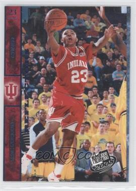 2008 Press Pass - [Base] - Blue Reflectors #11 - Eric Gordon