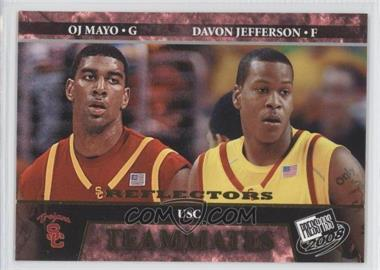 2008 Press Pass - [Base] - Reflectors #59 - O.J. Mayo, Davon Jefferson