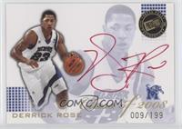 Derrick Rose (Red Ink) #9/199