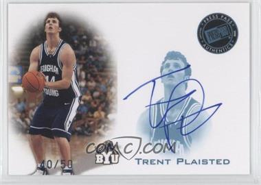 2008 Press Pass - Press Pass Signings - Blue #PPS-TP - Trent Plaisted /50