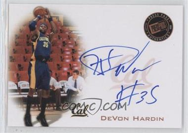 2008 Press Pass - Press Pass Signings - Bronze #PPS-DH - DeVon Hardin