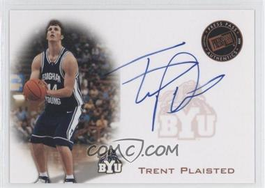 2008 Press Pass - Press Pass Signings - Silver #PPS-TP - Trent Plaisted /199