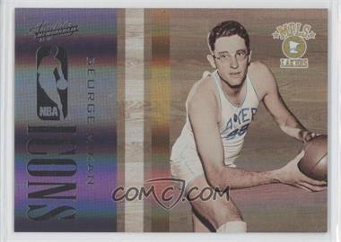 2009-10 Absolute Memorabilia - NBA Icons - Spectrum #10 - George Mikan /100