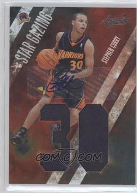 2009-10 Absolute Memorabilia - Star Gazing - Jumbo Jersey Number Signatures #10 - Stephen Curry /25