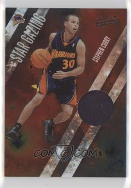 2009-10 Absolute Memorabilia - Star Gazing - Materials #10 - Stephen Curry /100