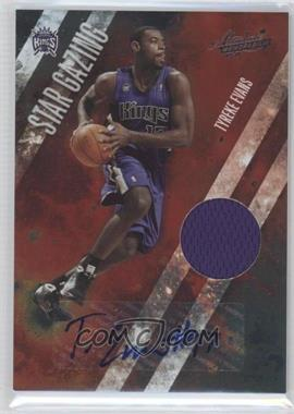 2009-10 Absolute Memorabilia - Star Gazing - Signature Materials #4 - Tyreke Evans /25