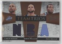 Carlos Boozer, Deron Williams, Paul Millsap #/40