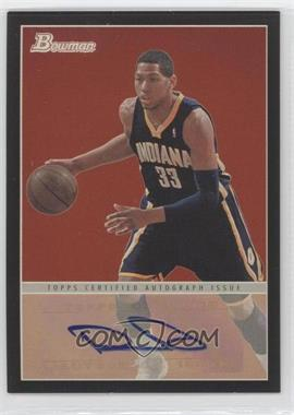 2009-10 Bowman '48 - '48 Autographs - Black #48A-DG - Danny Granger /48