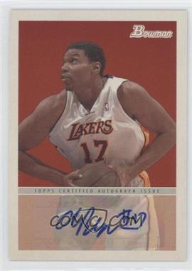 2009-10 Bowman '48 - '48 Autographs #48A-AB - Andrew Bynum