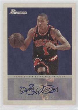 2009-10 Bowman '48 - '48 Autographs #48A-DR - Derrick Rose