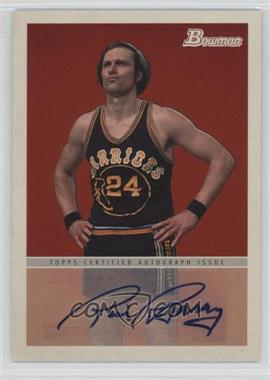 2009-10 Bowman '48 - '48 Autographs #48A-RB - Rick Barry